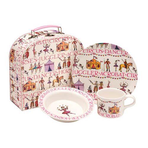 Emma Bridgewater Circus 3 Piece Melamine Dining Set
