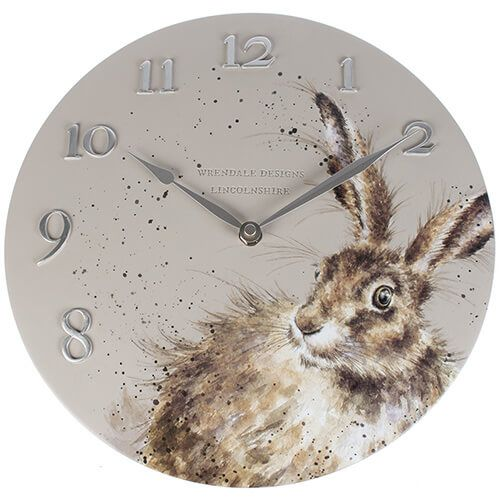 Wrendale Designs Hare Clock