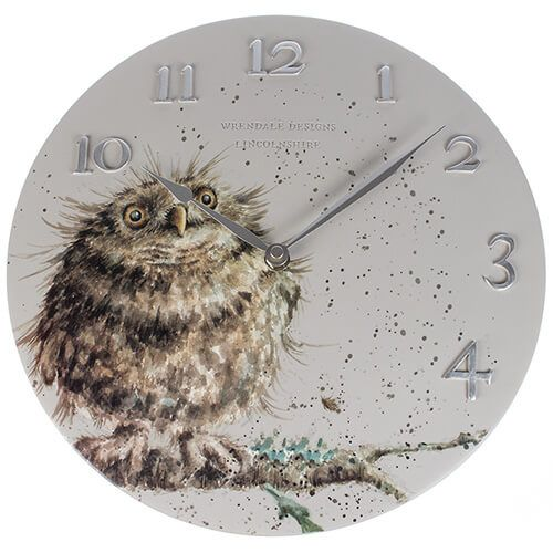 Wrendale Designs Owl Clock
