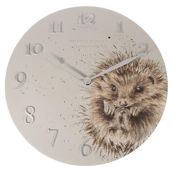 Wrendale Hedgehog Clock