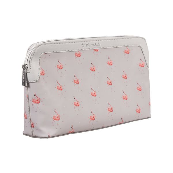 Wrendale Designs Flamingo Large Cosmetic Bag