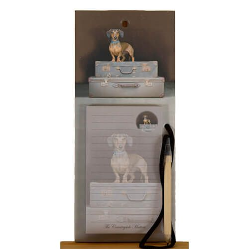 Country Matters Dachshund Travels Magnetic Notebook