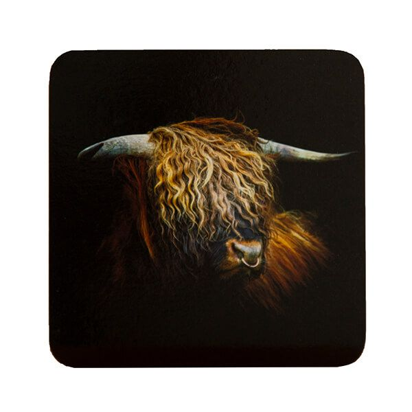 Country Matters Highland Bull Coaster