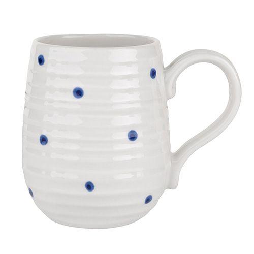 Sophie Conran Blue Spotted Beehive Mug