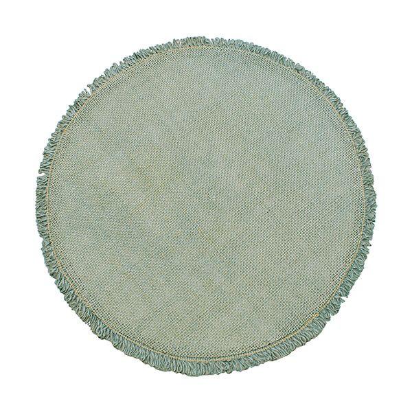 Walton & Co Circular Jute Placemat Moss