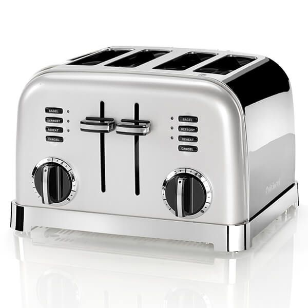 Cuisinart Style Collection 4 Slice Toaster Frosted Pearl