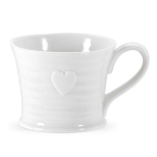 Sophie Conran Embossed Heart Mug Set Of 4