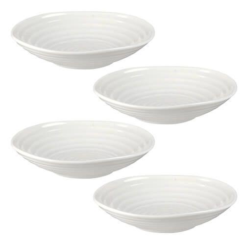 Sophie Conran Low Bowl White 4.5