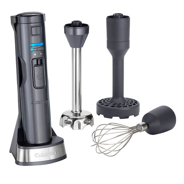 Cuisinart Style Collection Cordless 3-in-1 Hand Blender Midnight Grey