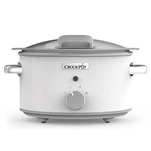 Crock Pot Duraceramic Saute 4.8 Litre Slow Cooker With Induction Pot