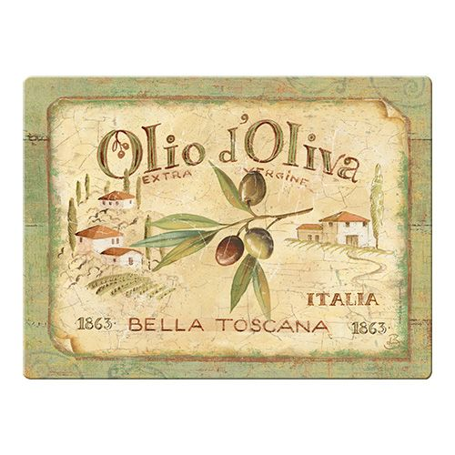 Olio D'Olivia Glass Worktop Saver