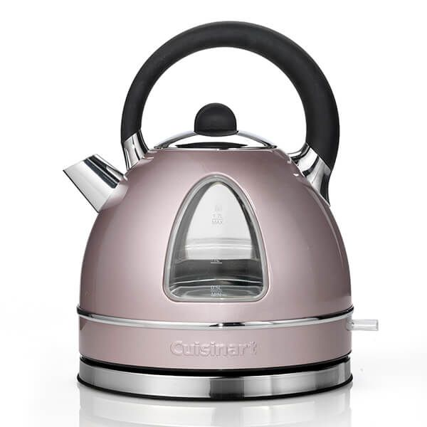 Cuisinart Style Collection 1.7L Traditional Kettle Vintage Rose