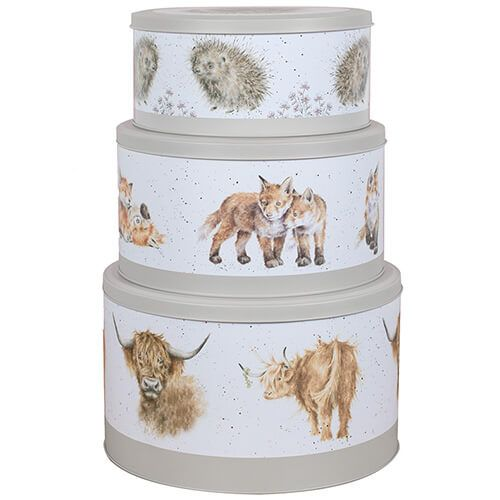 Wrendale Designs Nesting Cake Tins