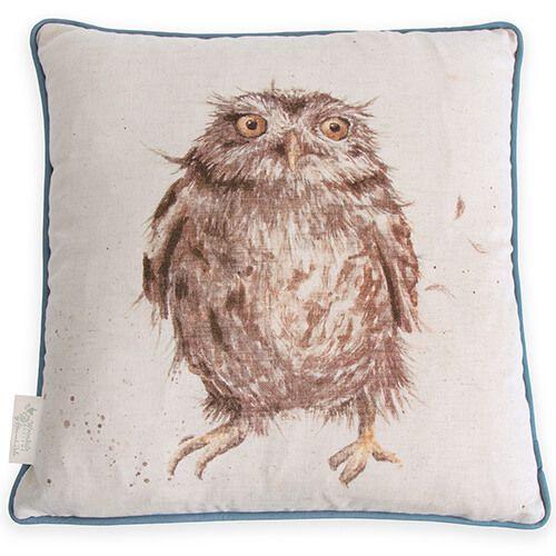 Wrendale Owl Cushion