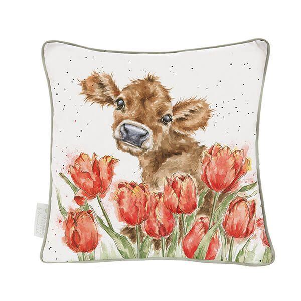 Wrendale Designs Bessie Cow Cushion
