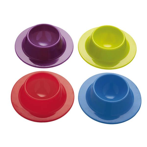 Colourworks Set of Four Silicone Egg Cups