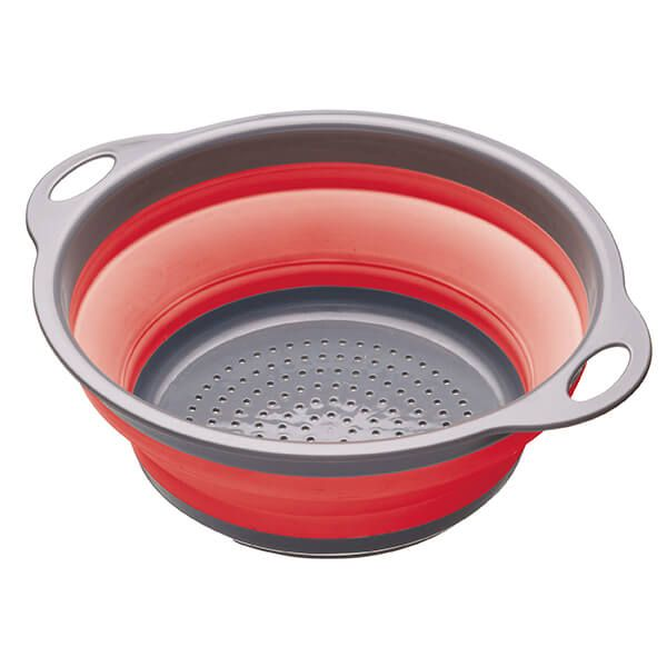 Colourworks Red 24cm Collapsible Colander