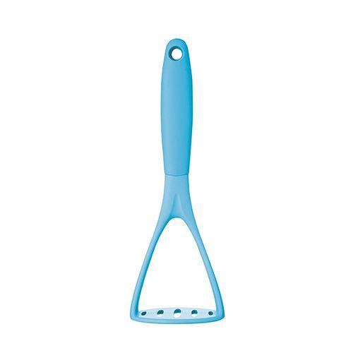 Colourworks 25cm Nylon Headed Masher Blue