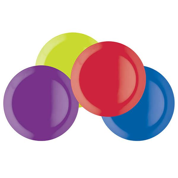 Colourworks Set of Four 23cm Melamine Salad Plates
