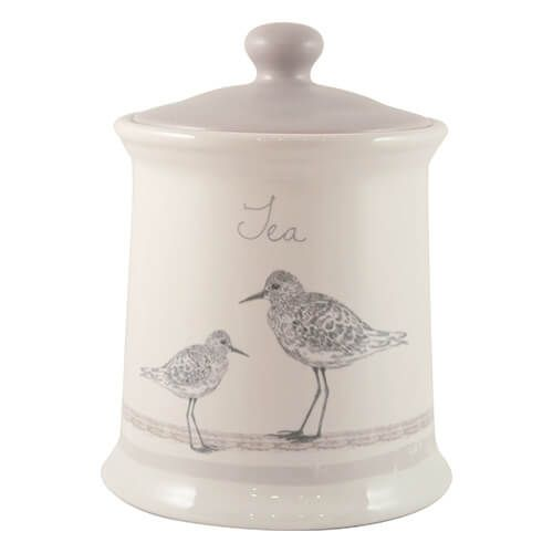 English Tableware Company Sandpiper Tea Canister