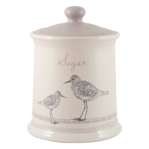 English Tableware Company Sandpiper Sugar Canister
