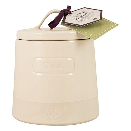 English Tableware Company Artisan Cream Tea Canister With Lid