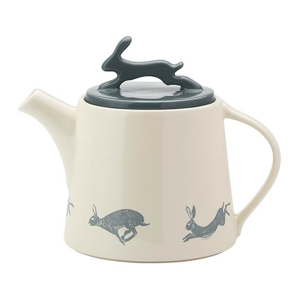 English Tableware Company Artisan Teapot With A 3D Hare Lid