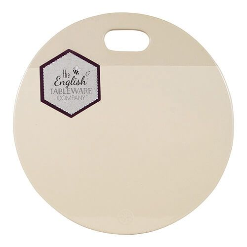English Tableware Company Artisan Cream Ceramic Serving & Chopping Plate