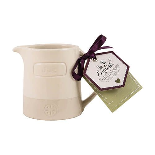 English Tableware Company Artisan Cream Creamer Jug