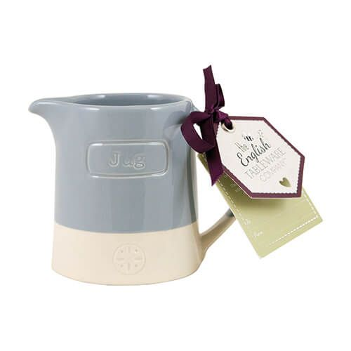 English Tableware Company Artisan Blue Creamer Jug