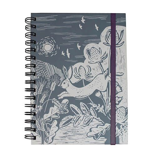 English Tableware Company Artisan Blue Hare Notebook