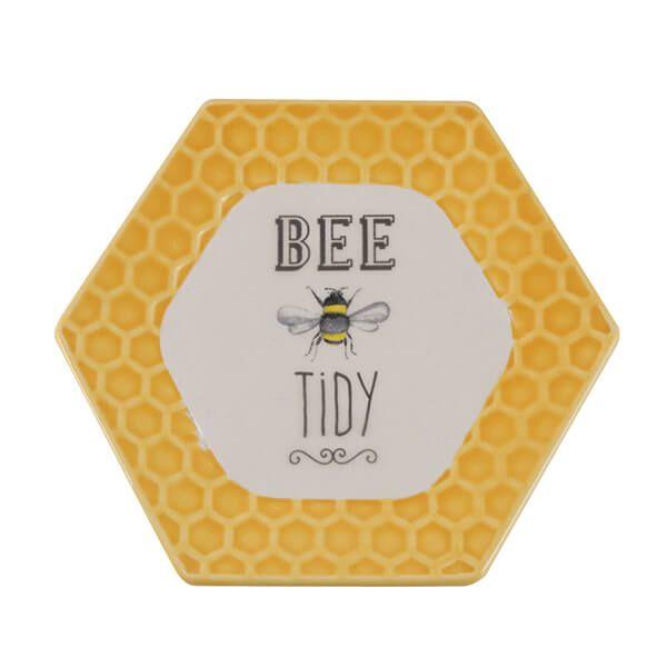 English Tableware Company Bee Happy Teabag Tidy