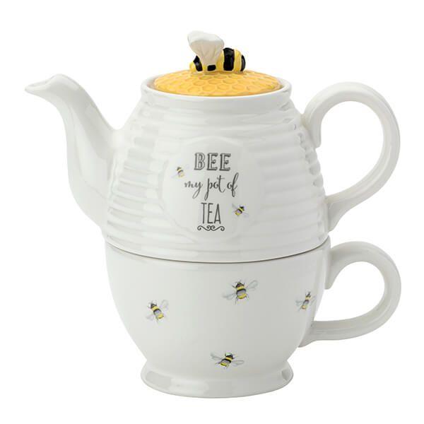 English Tableware Company Bee Happy Tea For One