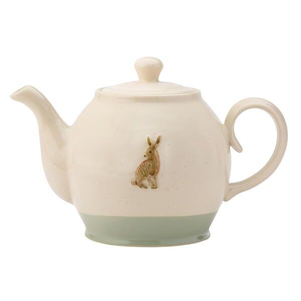 English Tableware Company Edale Teapot Hare