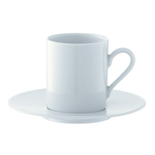 LSA Dine Espresso Cup & Saucer Straight 0.09L Set Of 4