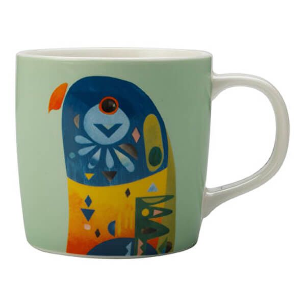 Maxwell & Williams Pete Cromer 375ml Mug Lorikeet Gift Boxed