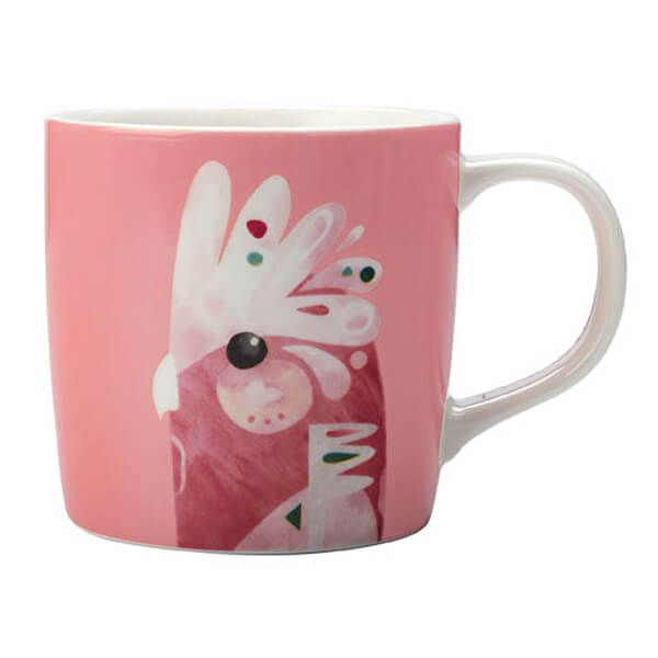 Maxwell & Williams Pete Cromer 375ml Mug Galah Gift Boxed
