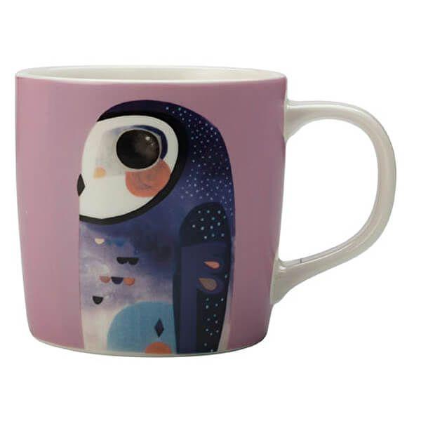 Maxwell & Williams Pete Cromer 375ml Mug Owl Gift Boxed