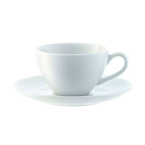 LSA Dine Espresso Cup & Saucer Curved 0.1L Set Of 4