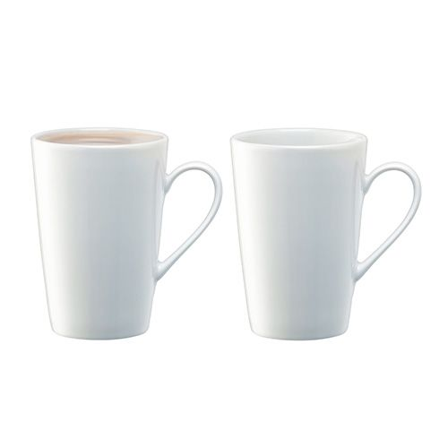 LSA Dine Latte Mug 330ml Set Of 2