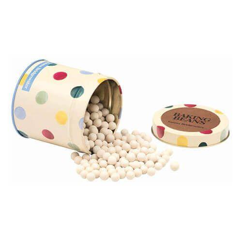 Emma Bridgewater Polka Dot Baking Beans in a Tin