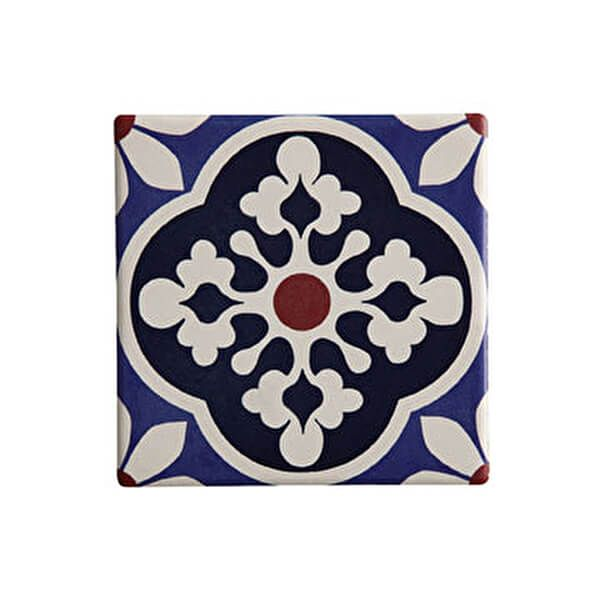 Maxwell & Williams Medina Tiznit 9cm Ceramic Square Tile Coaster
