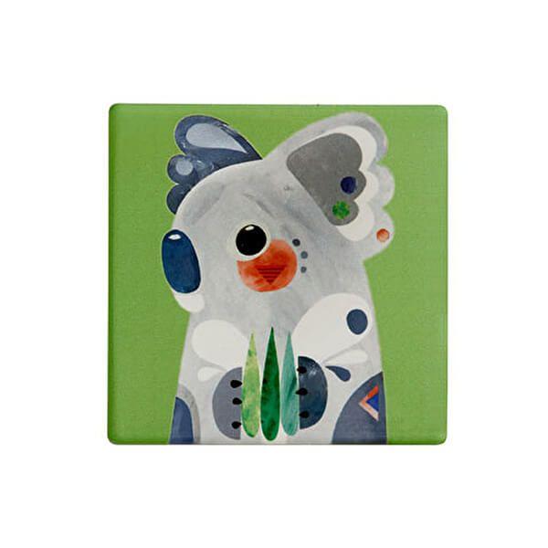 Maxwell & Williams Pete Cromer Ceramic Square 9.5cm Coaster Koala