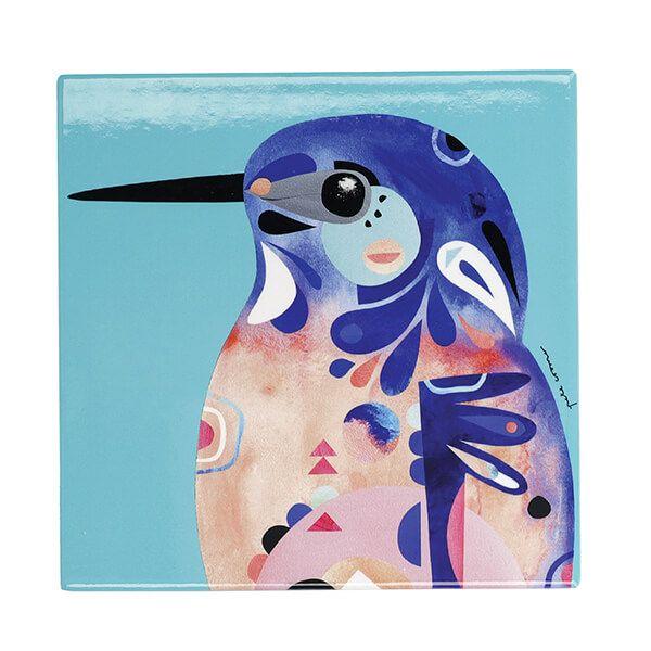 Maxwell & Williams Pete Cromer Kingfisher 20cm Ceramic Trivet