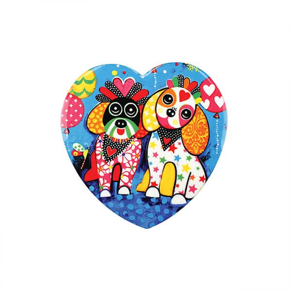 Maxwell & Williams Love Hearts Oodles of Love 10cm Ceramic Coaster