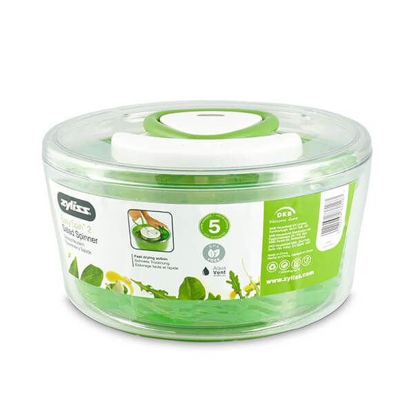 Zyliss Small Green Easy Spin 2 Salad Spinner