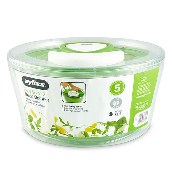 Zyliss Large Green Easy Spin 2 Salad Spinner
