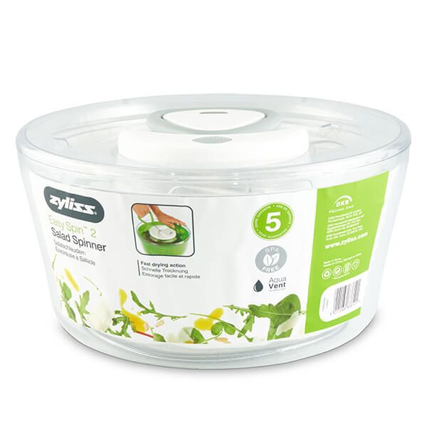 Zyliss Large White Easy Spin 2 Salad Spinner