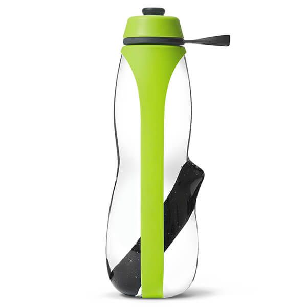 Black + Blum Eau Good Duo Lime Sports Charcoal Filtered Water Bottle