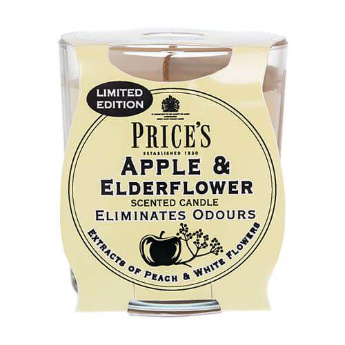 Prices Fresh Air Jar Candle Apple & Elderflower